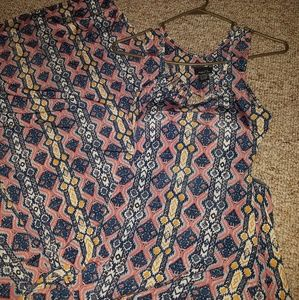 Rue21 maxi dress small nwt